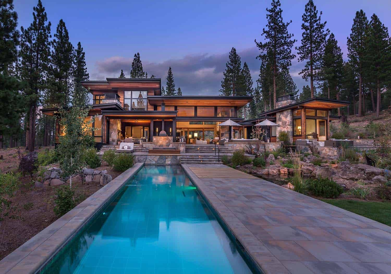 Modern Home Celebrates Indoor Outdoor Living In Sierra Nevada