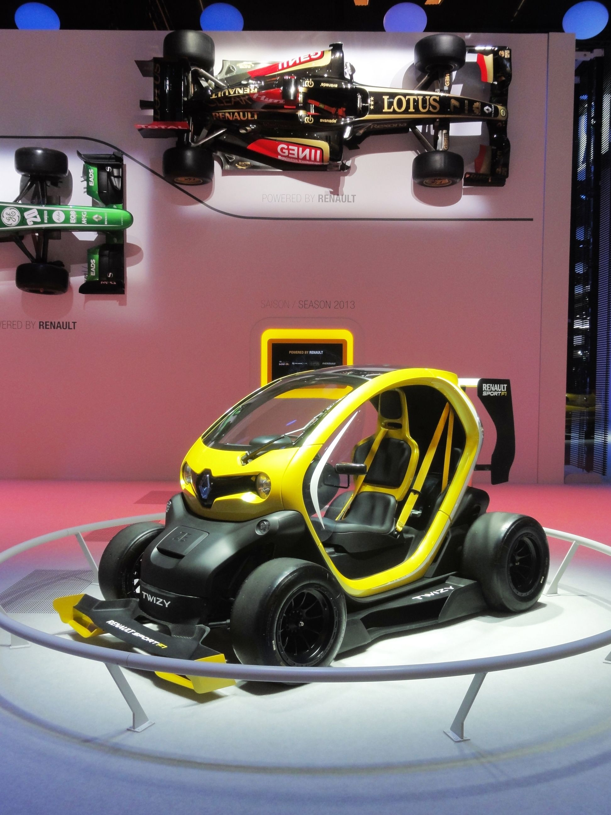 Renault Twizy F1 Concept Car Was Also Exhibited At The Frankfurt