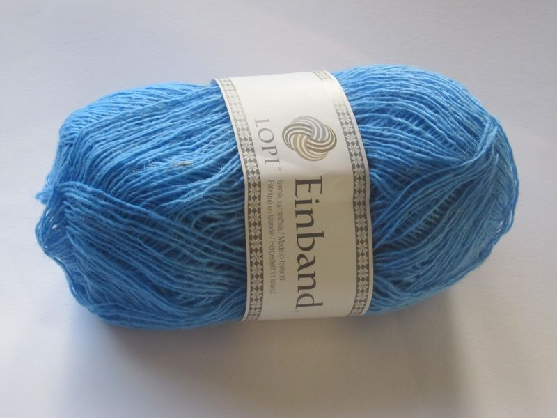 IJslandse wol - Einband Lopi - hemelsblauw 9281