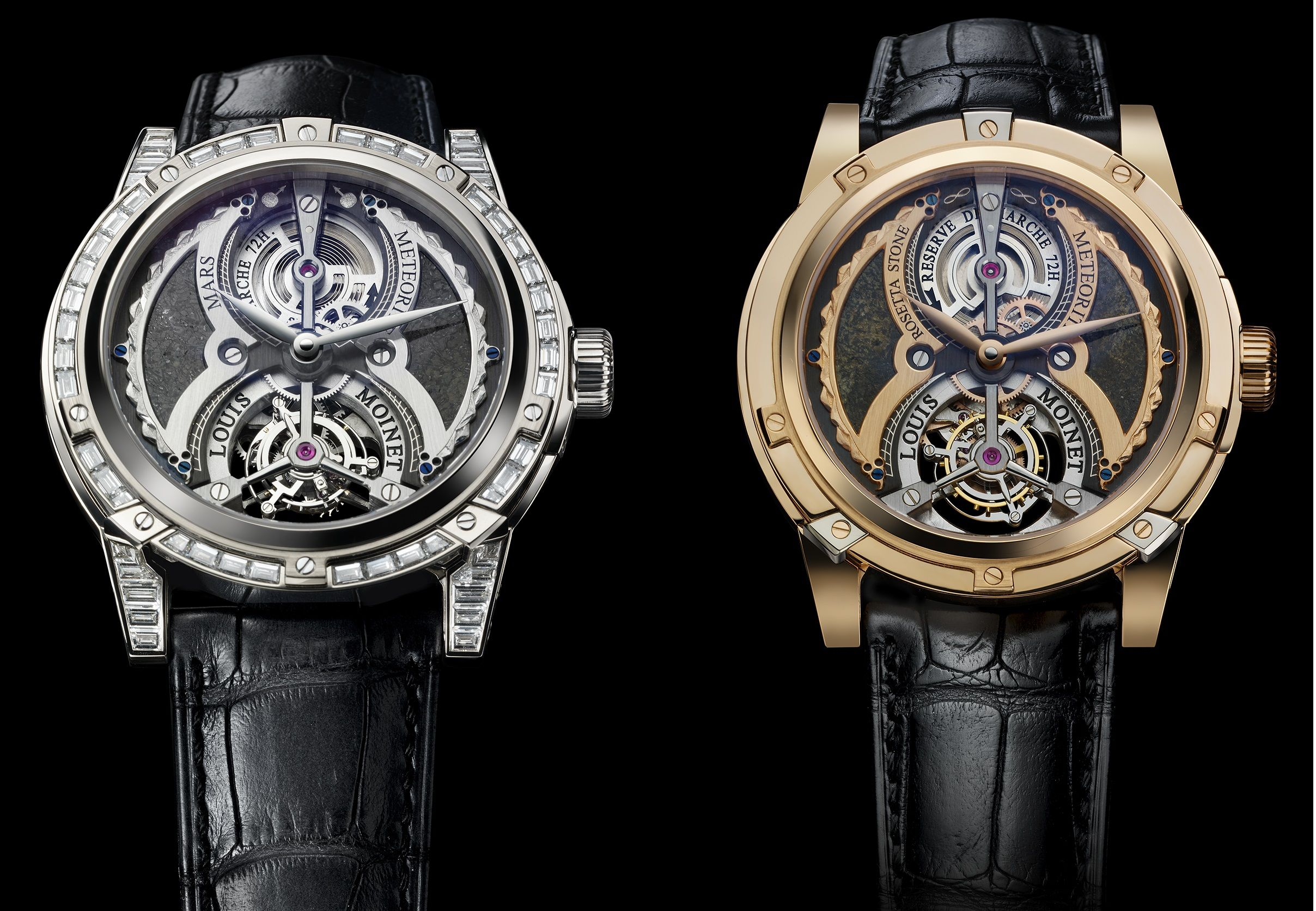Top 10 most expensive watches over 2 million louis moinet meteoris watch collection rich and for Louis moinet watch