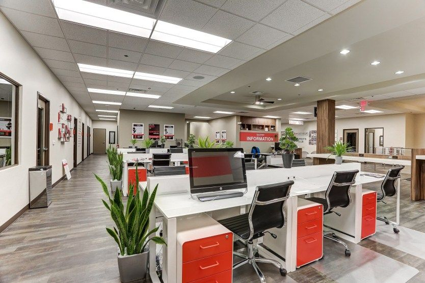 Is Your Office Ready For An Open Plan Layout Design Tribe In 2020 Open Office Layout Interior Design Work Layout Design