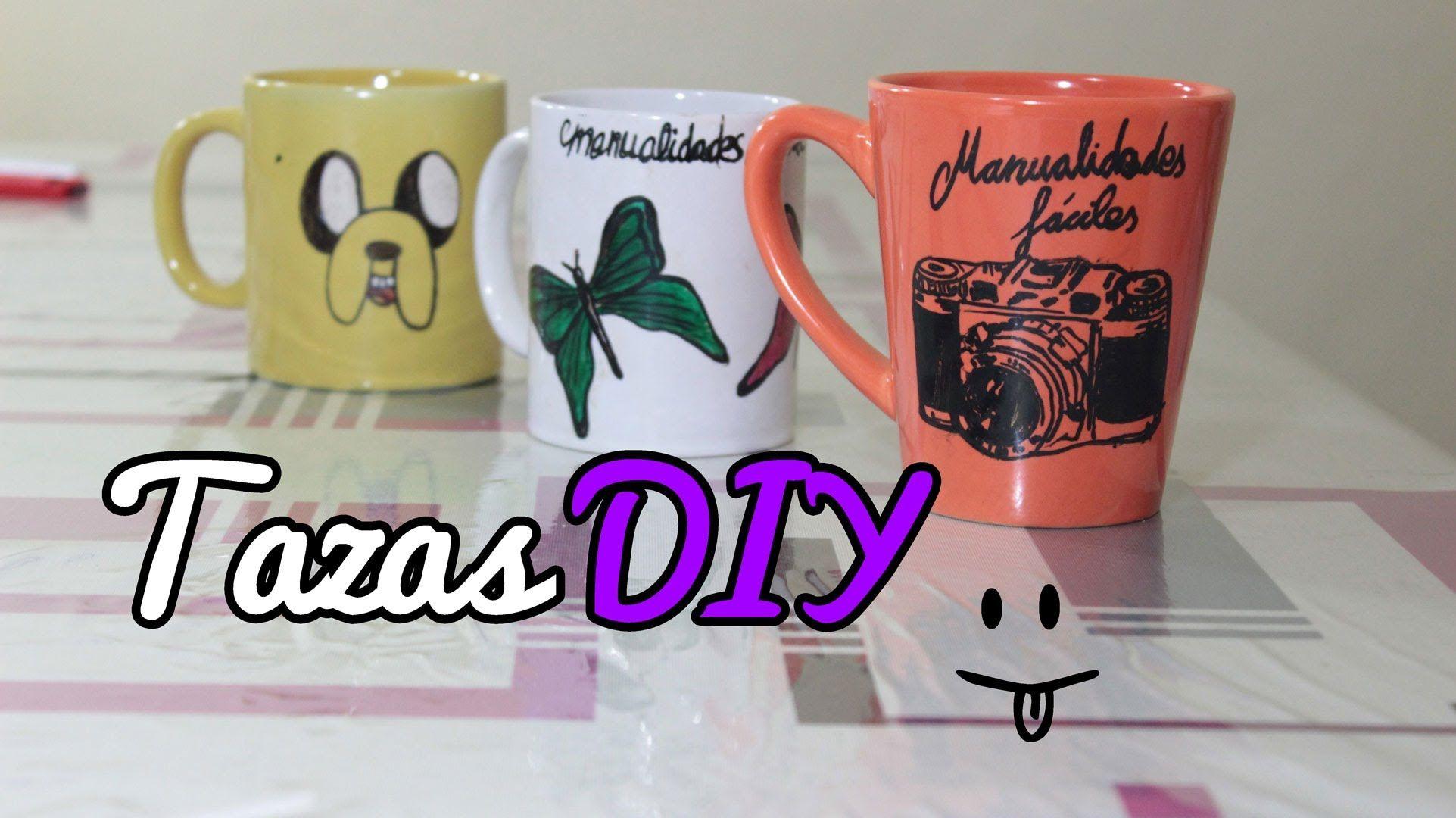 C mo hacer tazas personalizadas decorar tazas - Como se hace manualidades ...