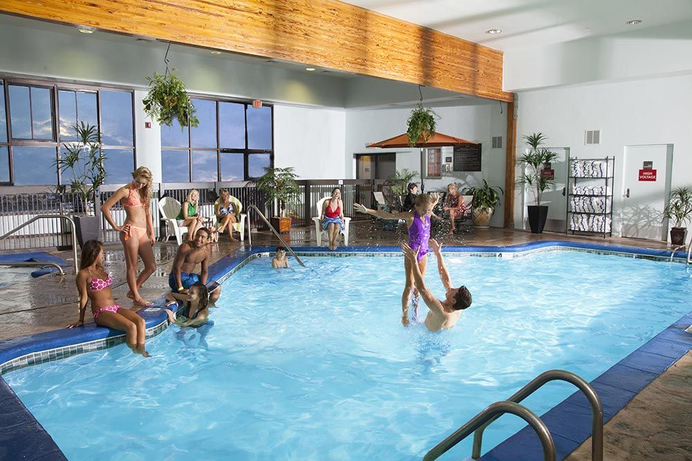 We Have An Outdoor And Indoor Pool No Matter What The Season You Will Poolspigeon Forgethe Riverfamily