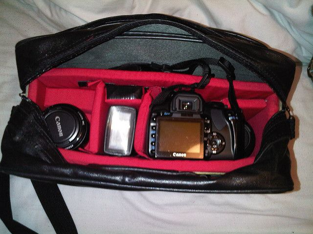 Homemade Camera Bag Diy Avec Images