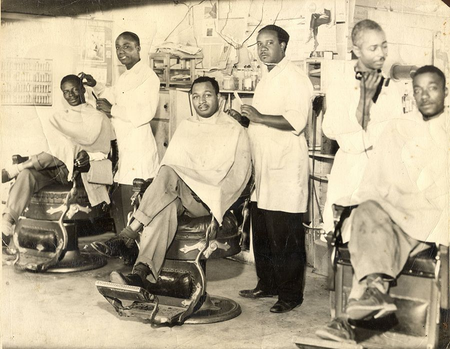 32+ Black barber shop pictures ideas in 2021
