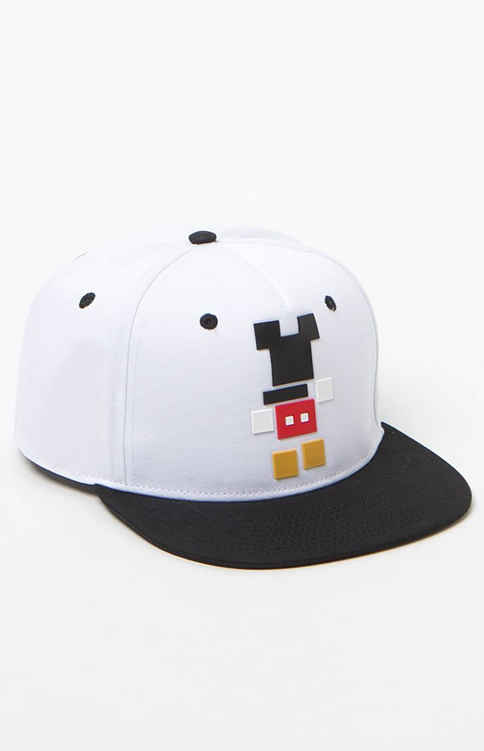 x Disney Mickey Blocks Snapback Hat  94b9fb3d16d