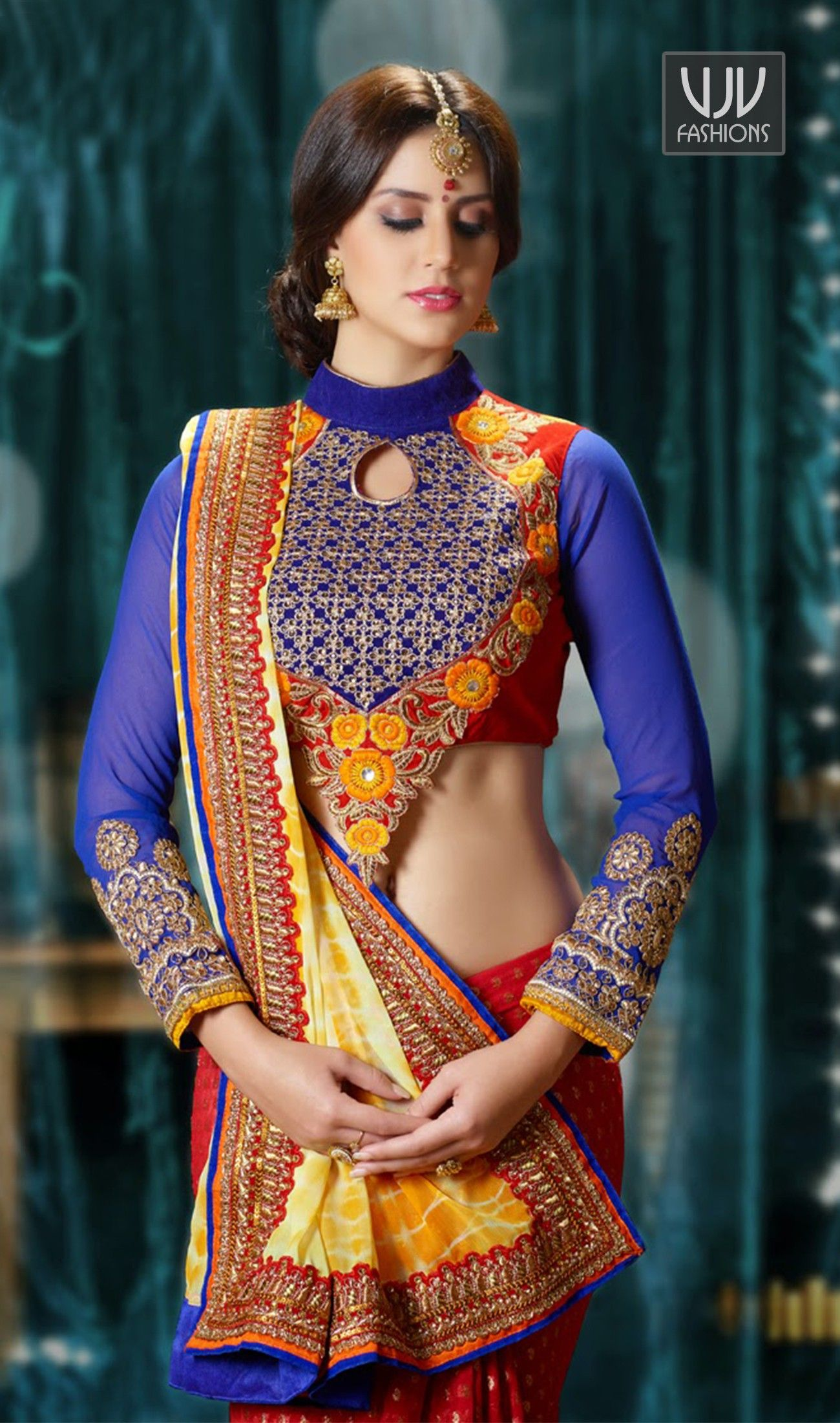 New sarees stylish new photo
