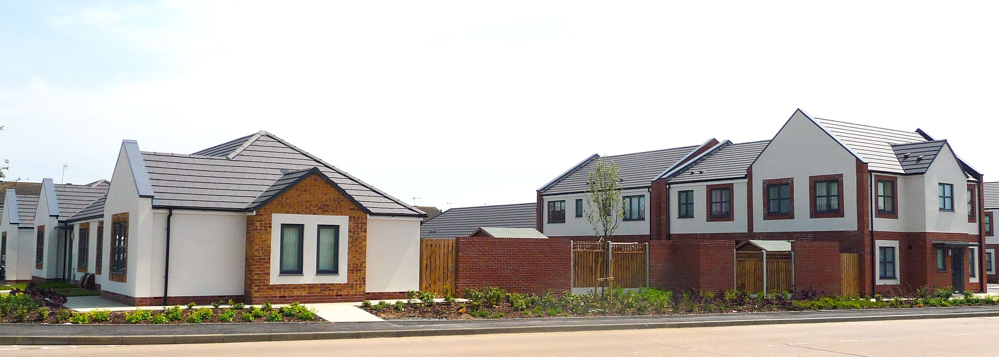Saddleworth Close Hull The 54 Unit Scheme Was Designed On Behalf Of Riverside Housing Association As Part Of A Wider Ma Social Housing House Styles Architect