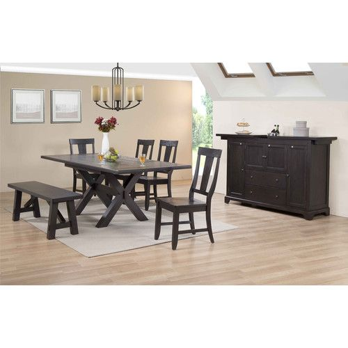rum point extendable solid wood dining table for the home solid rh pinterest com