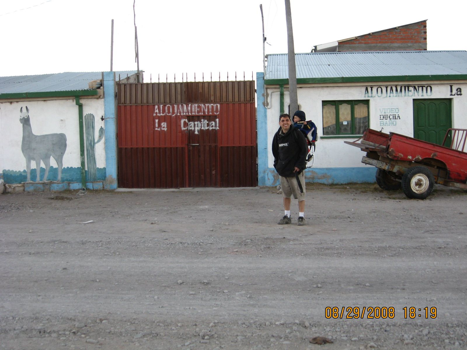 The place where we stayed in the rural community of Turco
