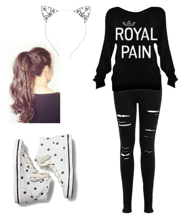 """""""Mia u would wear thus"""" by my1chemical2awesomeness on Polyvore featuring Miss Selfridge and Keds"""