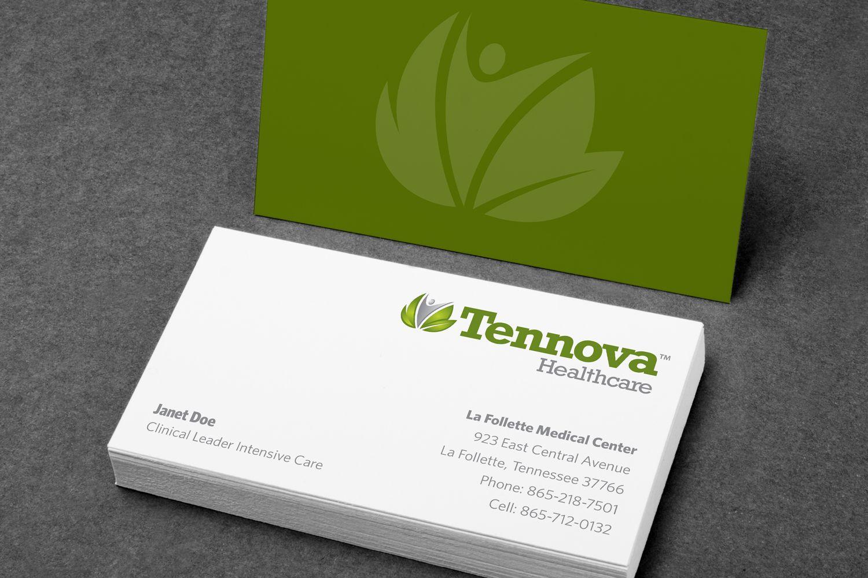 Tennova Healthcare Business Cards - Jon Nedry, Creative Director ...