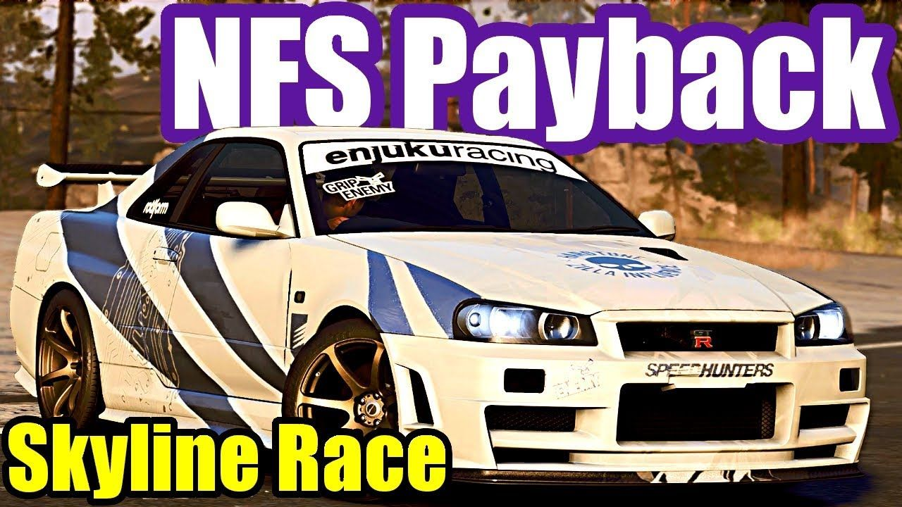 Nissan Skyline R34 Race Need For Speed Payback 37 Nissan