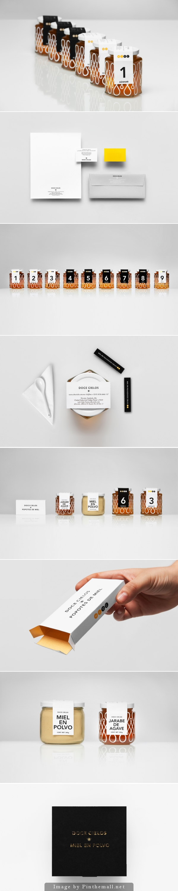 I'm in love with this Anagrama honey #packaging and #branding curated by Packaging Diva PD created via http://www.anagrama.com/portafolio/125-doce-cielos
