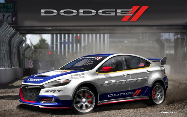 Dodge To Race Dart In Rallycross Dodge Dart Rally Car Dodge