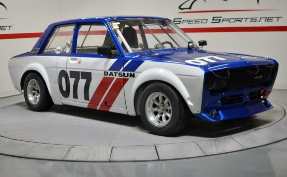 This Datsun Has Four Scca Logbooks Dating Back To