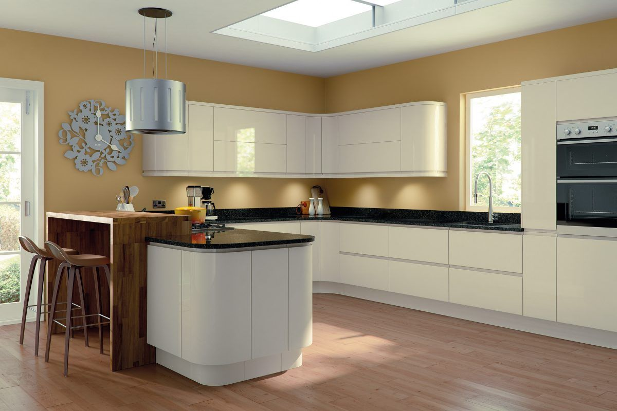 Lacarre Gloss Cream (With images) | High gloss kitchen ...