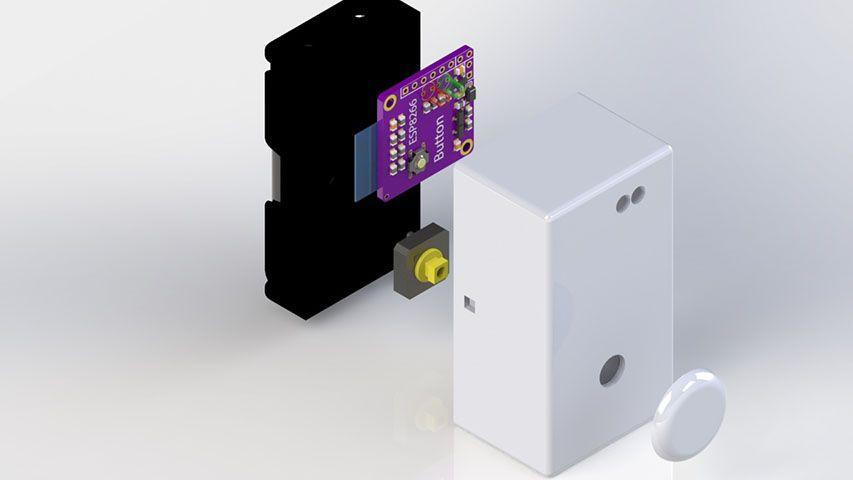 ESP8266-Dash-Button - Open sourced WiFi Button | DIY Hobby