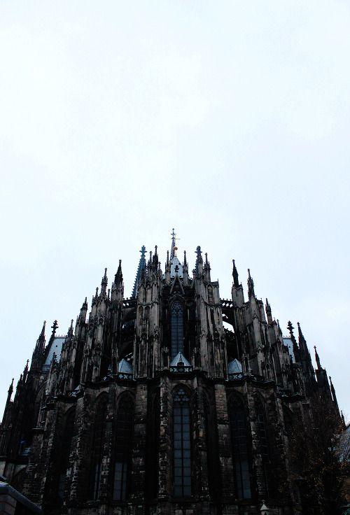 cologne cathedral germany poder pinterest g tico arquitectura y castillos. Black Bedroom Furniture Sets. Home Design Ideas