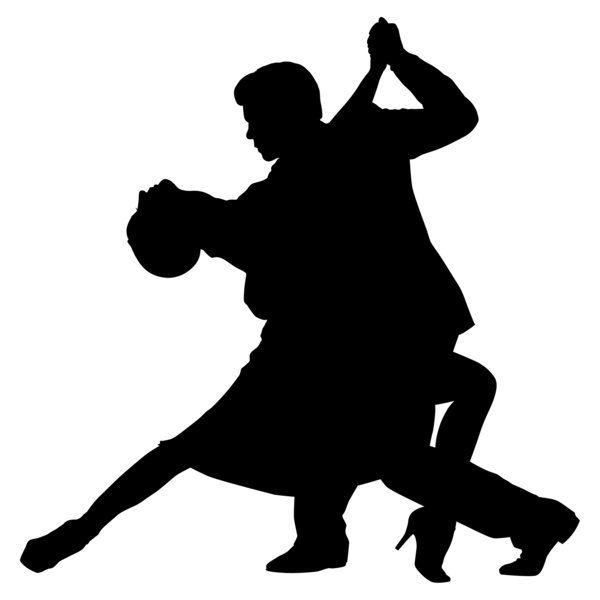 Ballroom Couple Dancer Silhouette Google Search