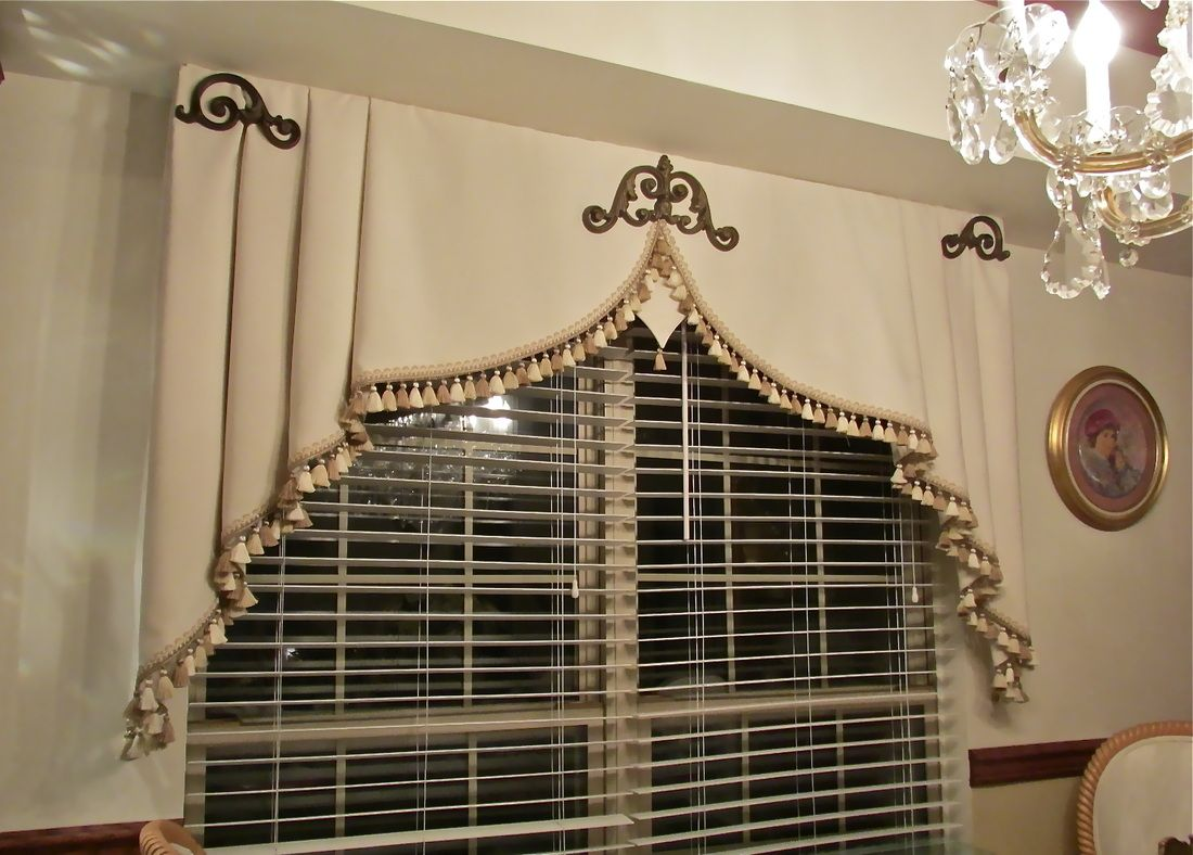 Milan Valance Sew Stylish Designs Llc Custom Drapery