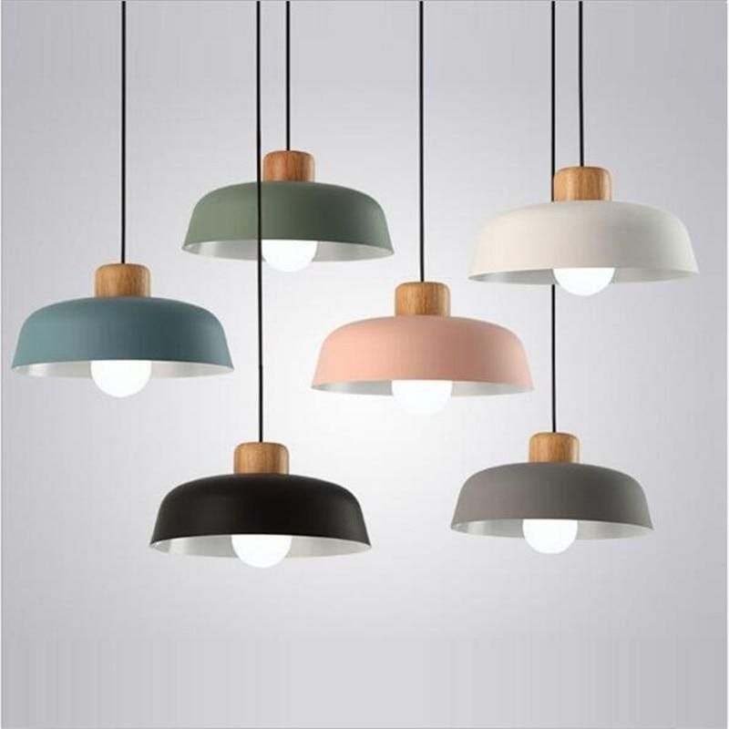 Modern Pendant Light Fitting Available In Various Colours Power Source Acvoltage 90 260vcertifi Pendant Light Wooden Pendant Lighting Pendant Light Fitting