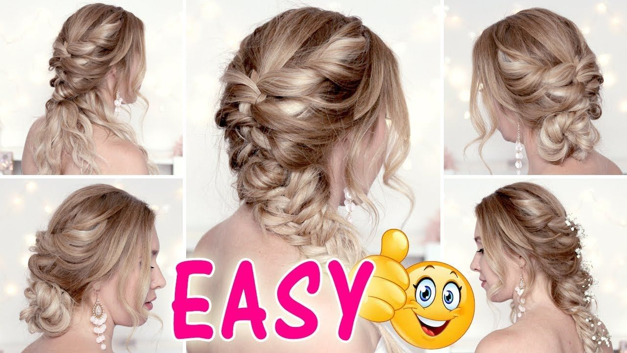 Easy and cute hairstyles for mediumlong hair tutorial back to