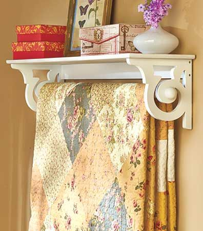 How To Display Your Quilts And Handmade Afghans Favorite