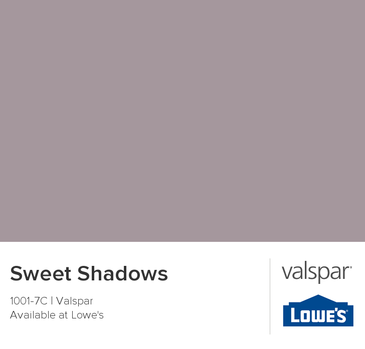 Master Bathroom: Sweet Shadows From Valspar