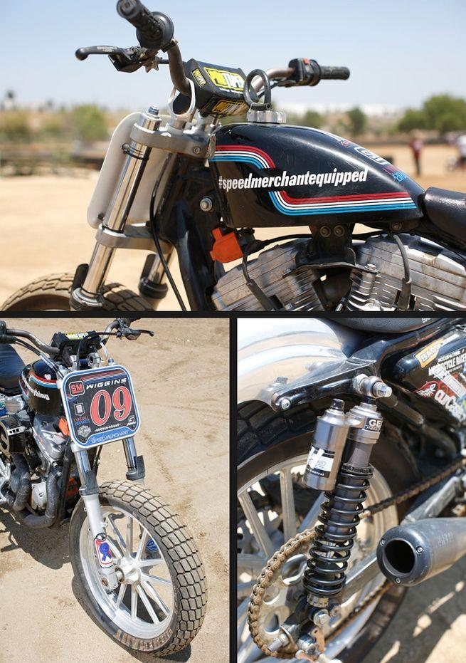 Chris Wiggins' HarleyDavidson Sportster Hooligan Race