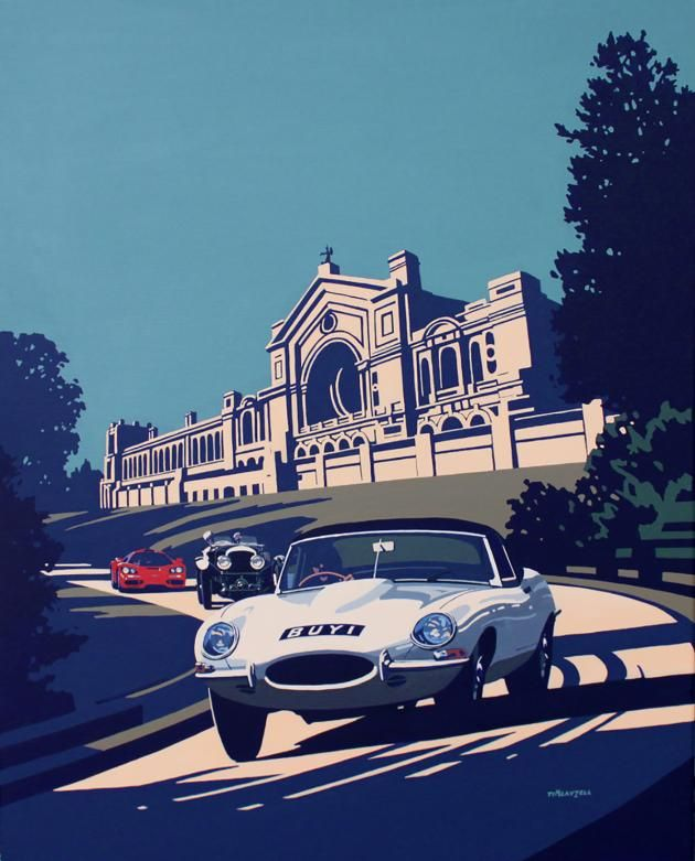 Classic And Sports Car Show Artwork Revealed Classic And Sports - Sports cars posters