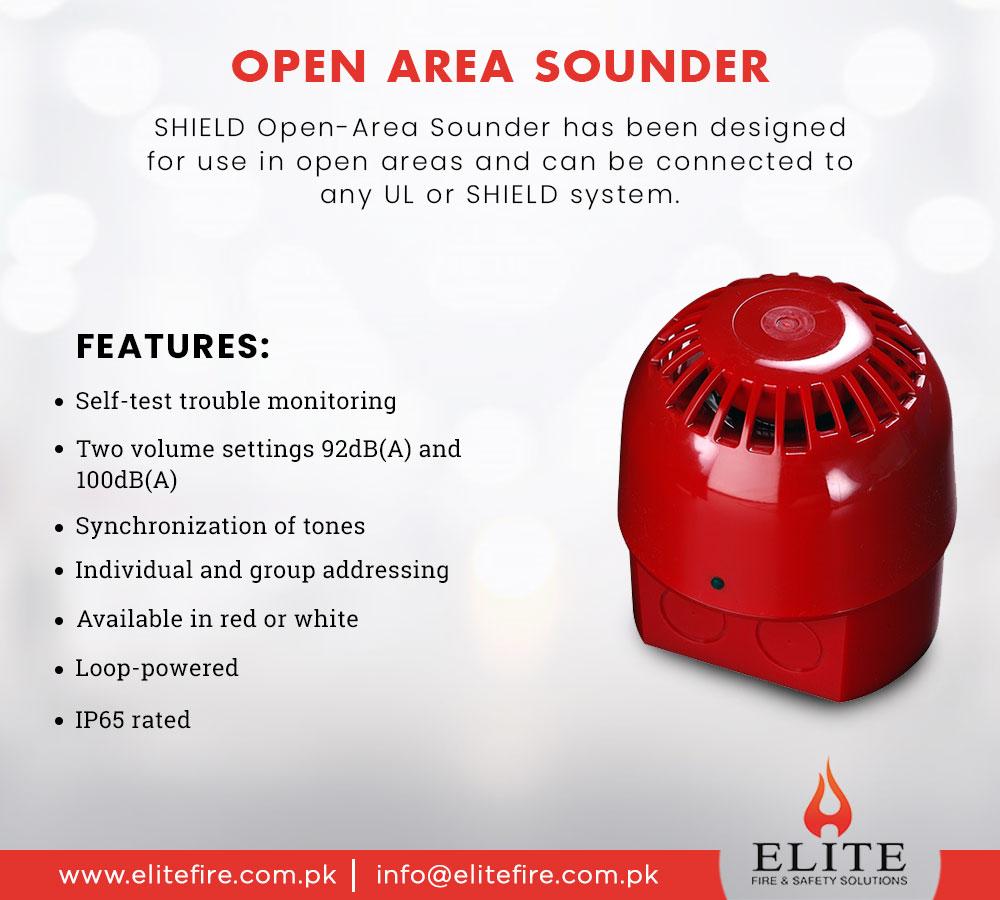 Buy open area sounder from Elite fire. Visit https