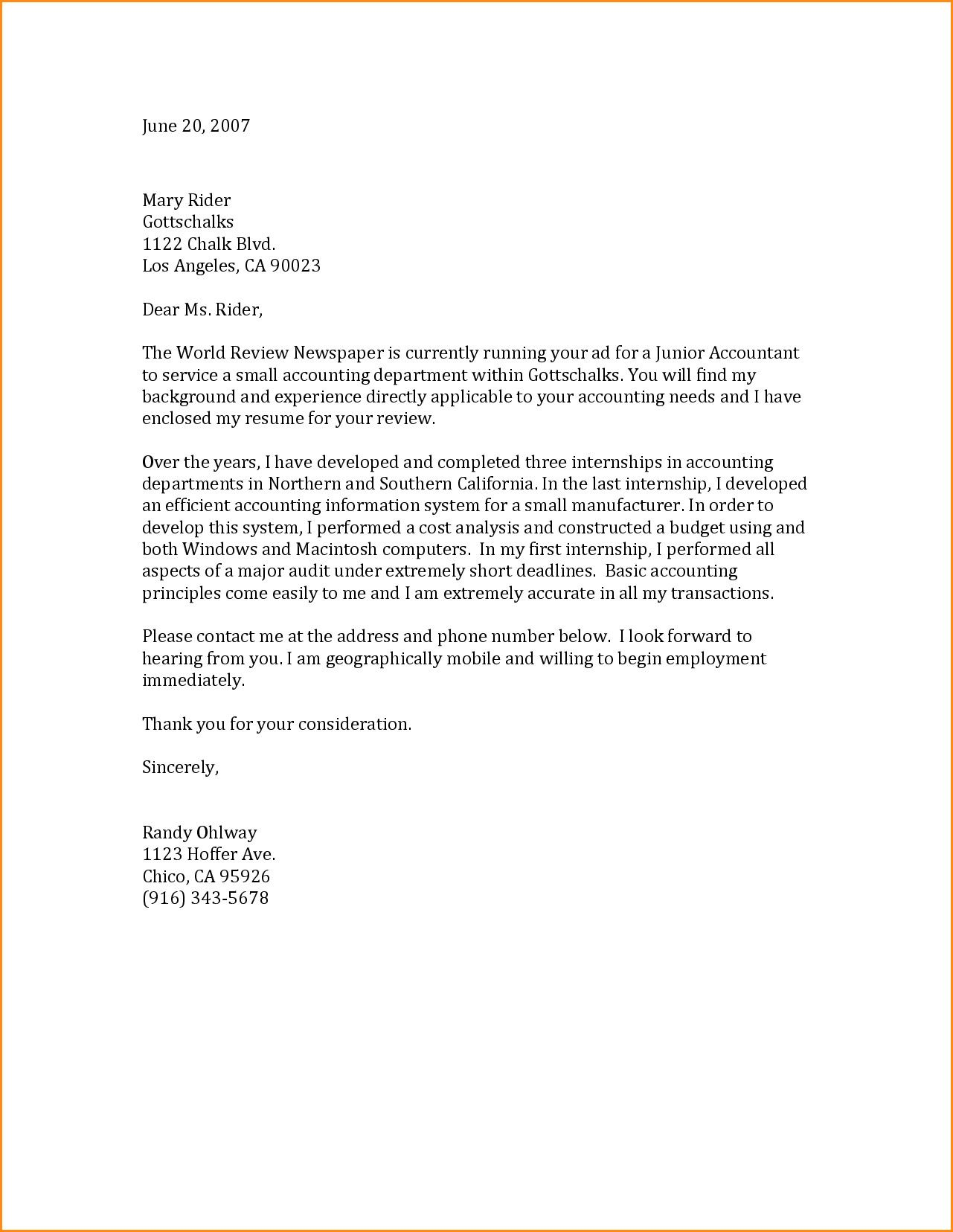 27 General Cover Letter Sample Resume Cover Letter Examples