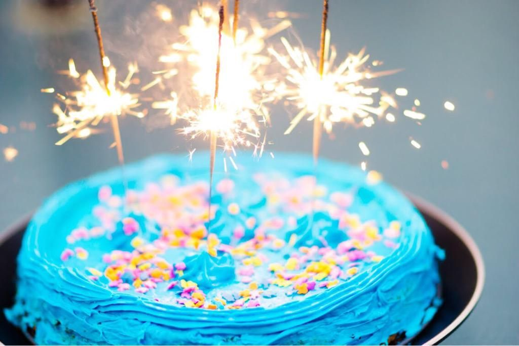 Tori Del Vecchio on Birthday sparklers, Sparklers, Birthday