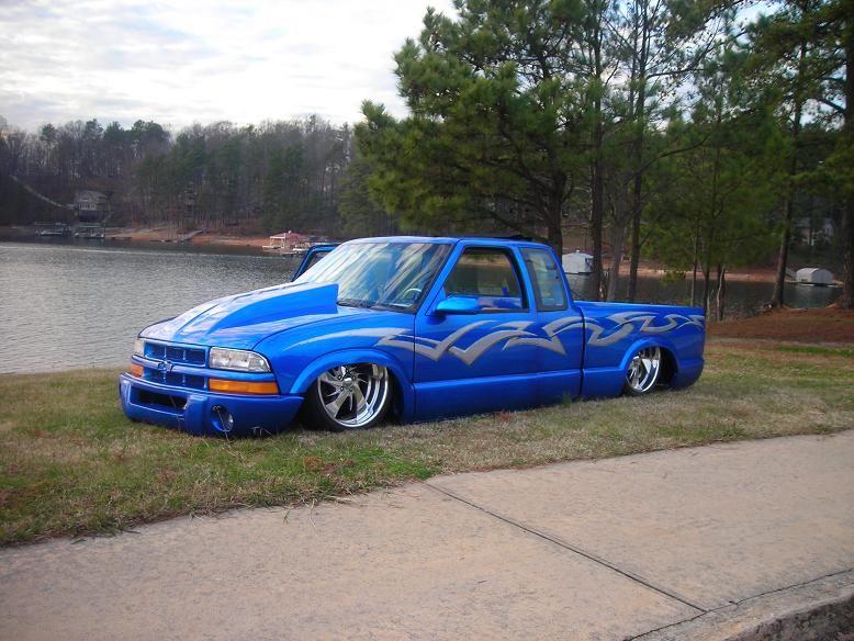 S 10 Show Truck Bagged B D Mini Trucks Custom Trucks Custom Wheels Trucks