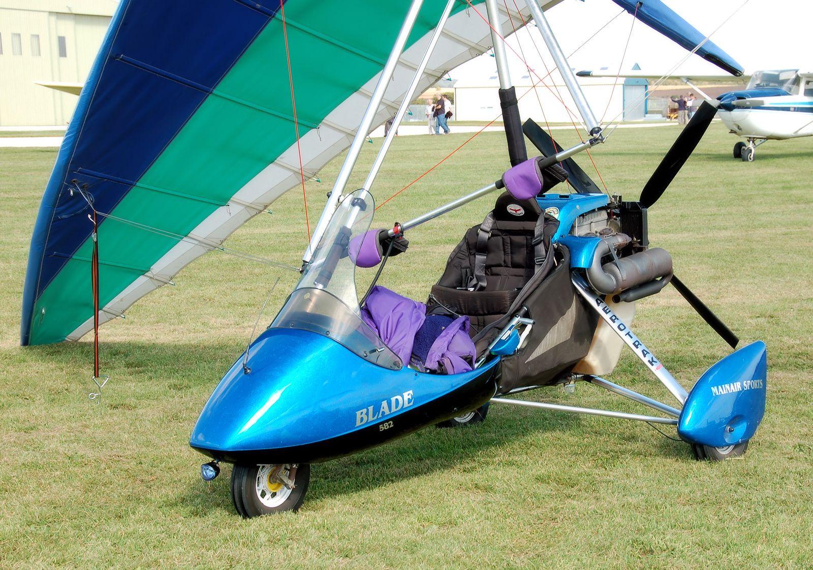 Mainair Blade 582 #aviation #aircraft #flexwing #trike
