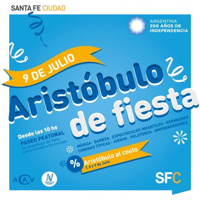 9 Julio Santa Fe - Aristóbulo de Fiesta | Region Litoral