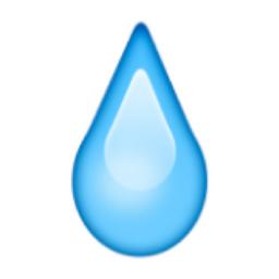 Droplet Emoji U 1f4a7 U E331 Emoji Droplets Emoji Faces