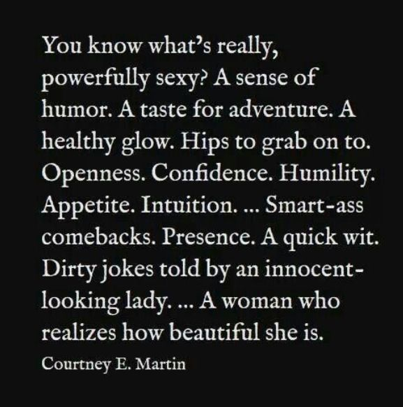 What makes a women sexy