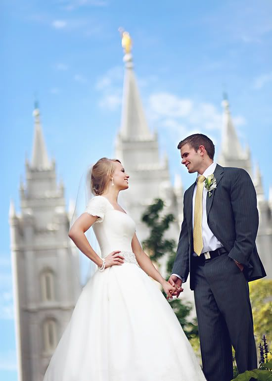 wedding #dress #gown #bridal #sleeves #modest #romantic #temple ...