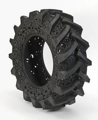 Wow! Never thought a tire could be so beautiful!
