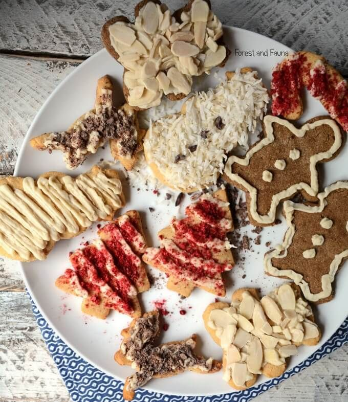 THE ICING RECIPE IS GREAT! Paleo Grain-Free Christmas Cookies - easy