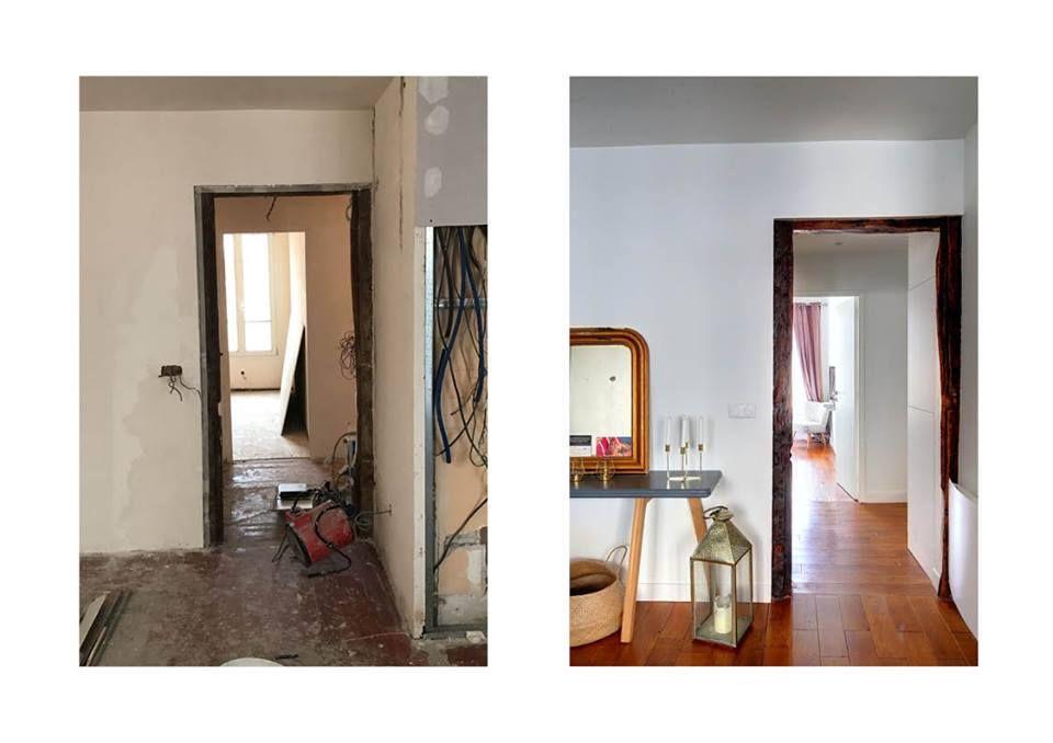 Rénovation Totale Du0027un Appartement De 50m2 à Paris, Bastille. Photo Avant/