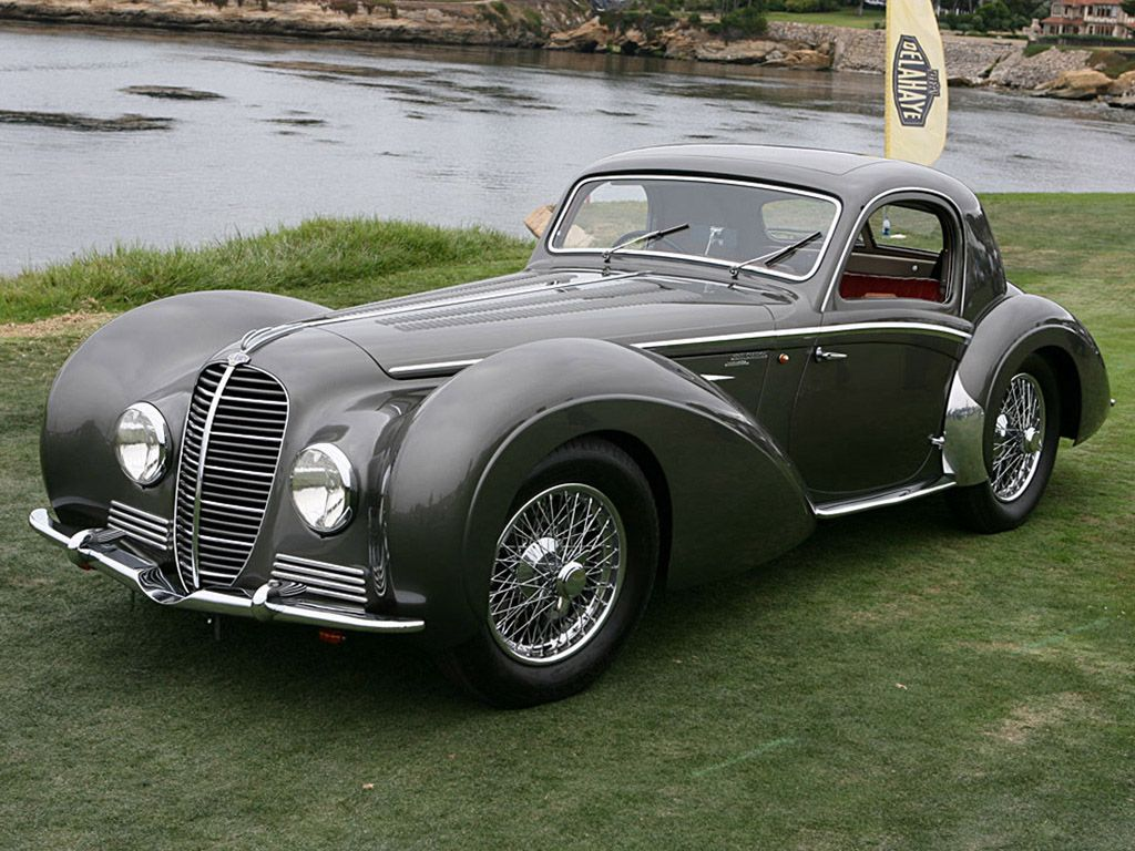 1937 Delahaye 145 Chapron Coupe | Classic cars, motorcycles ...