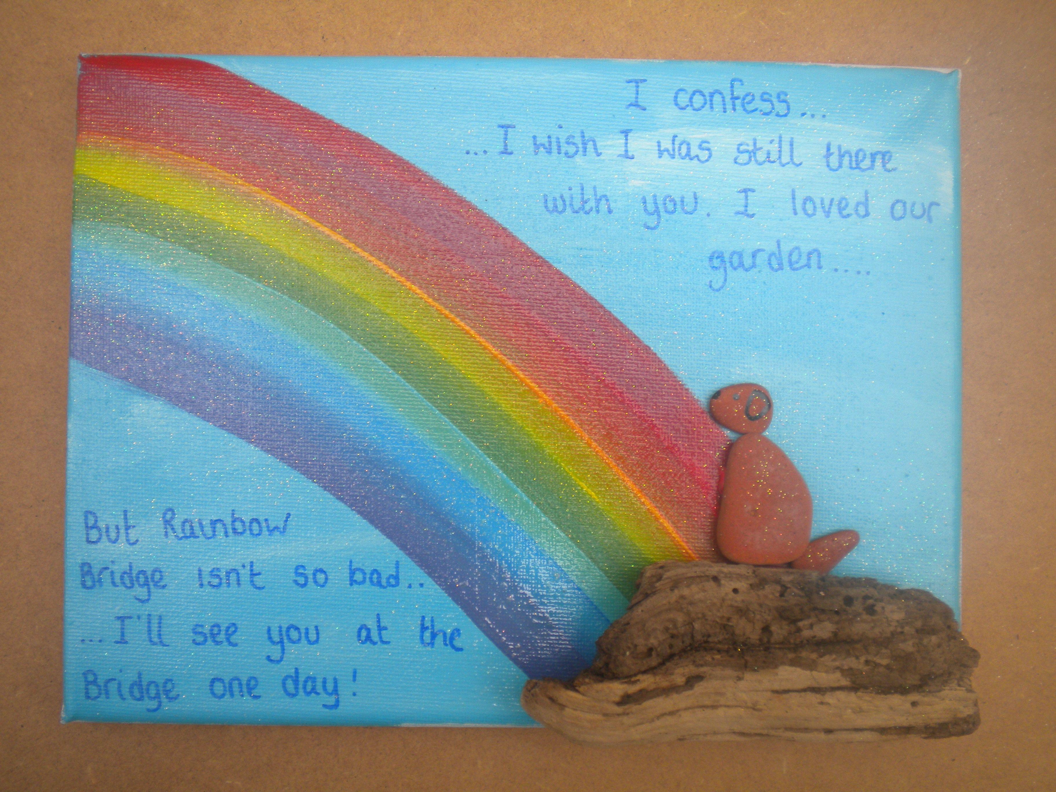 Rainbow Bridge by Kate Dengra @dengra_designs