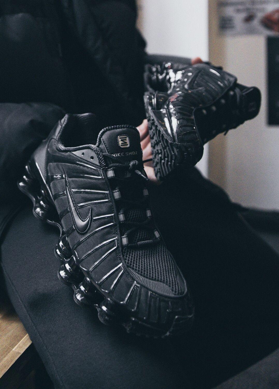 Nike Shox TL BV1127 001 Black/Black in