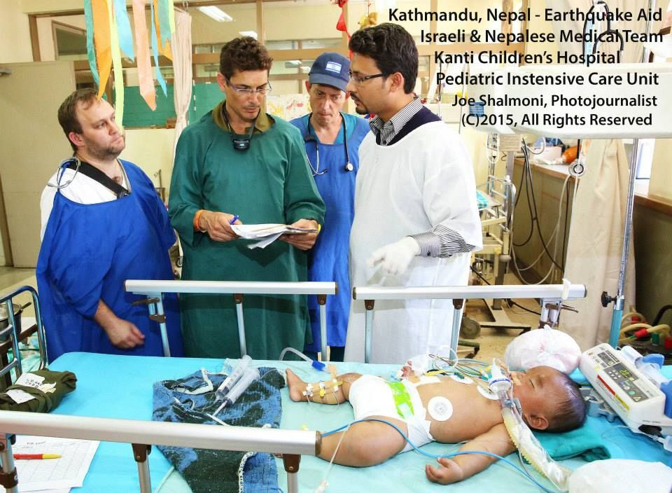 A critically ill, 7 month old toddler is transferred by