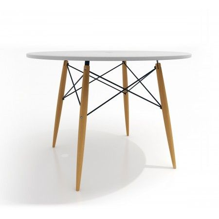 Table à manger ronde Ø100cm design Skoll Pinterest Design table