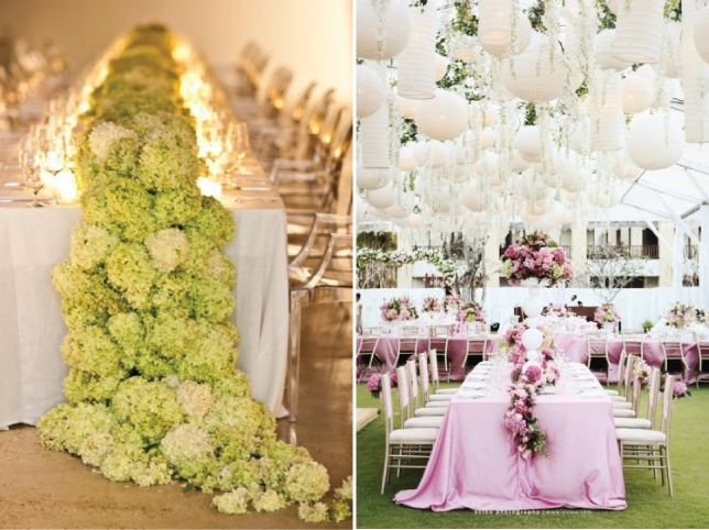 Wedding Trends Cascading Flowers Belle The Magazine Blog For Table Designsreception