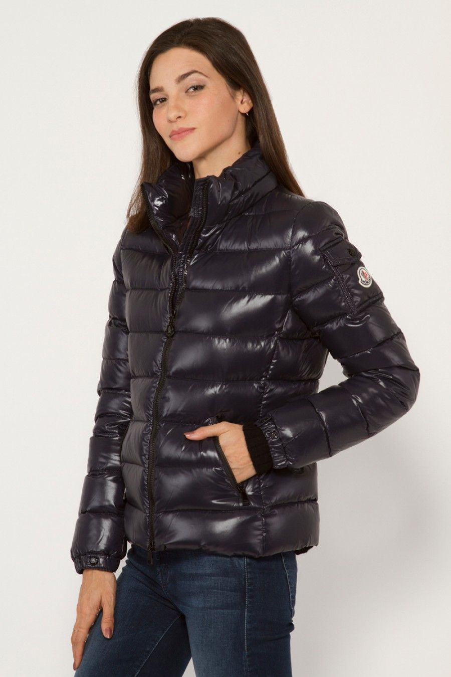moncler black bady jacket